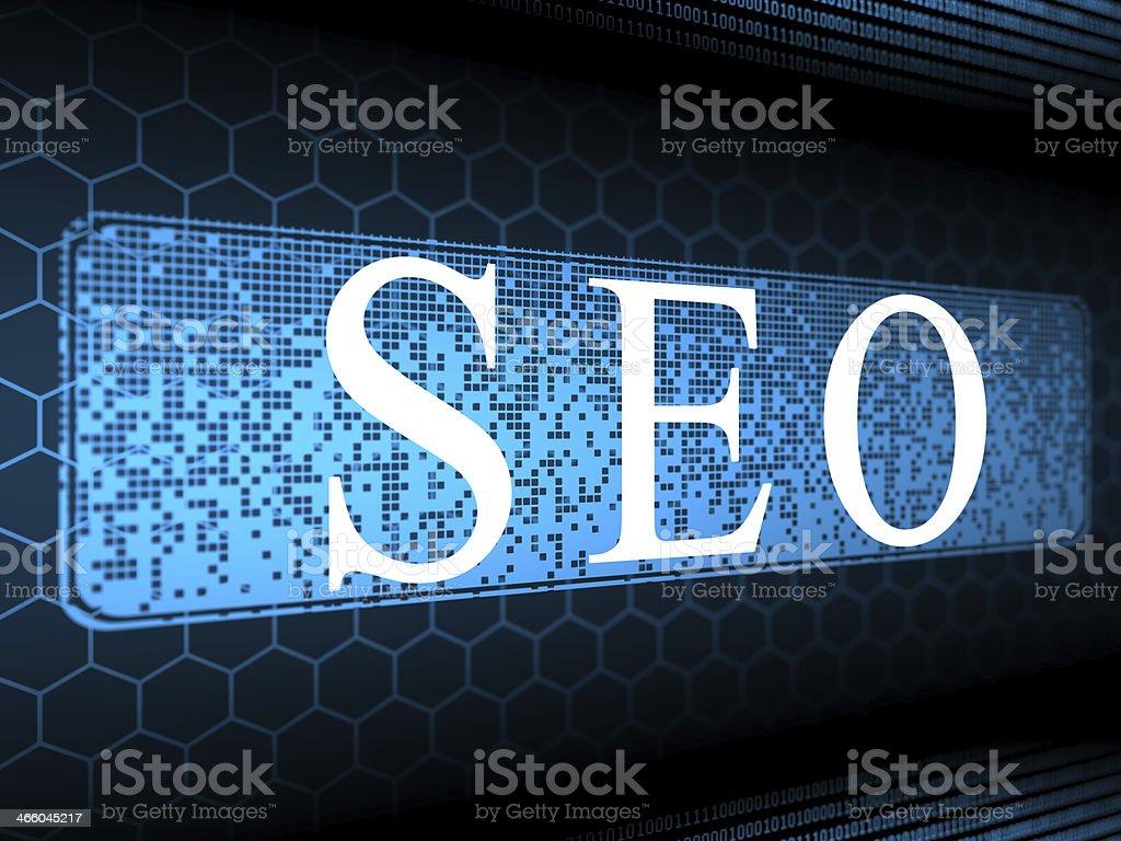 SEO searh engine optimization stock photo