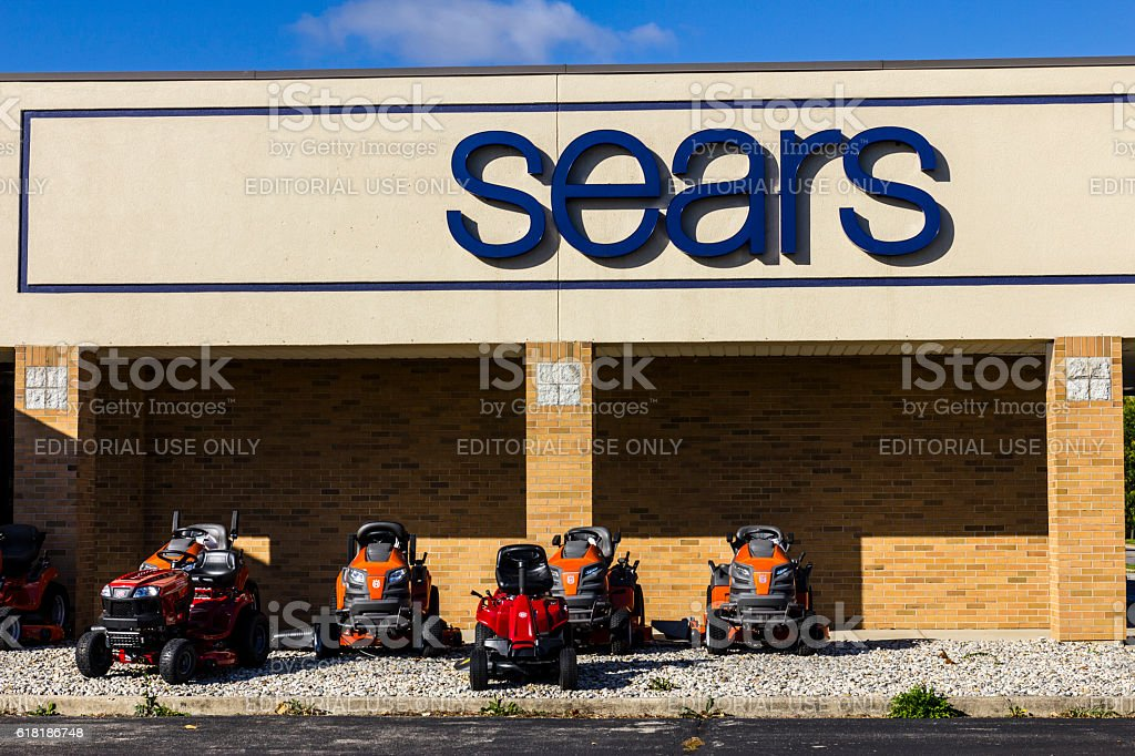 Sears Retail Mall Location VII stock photo