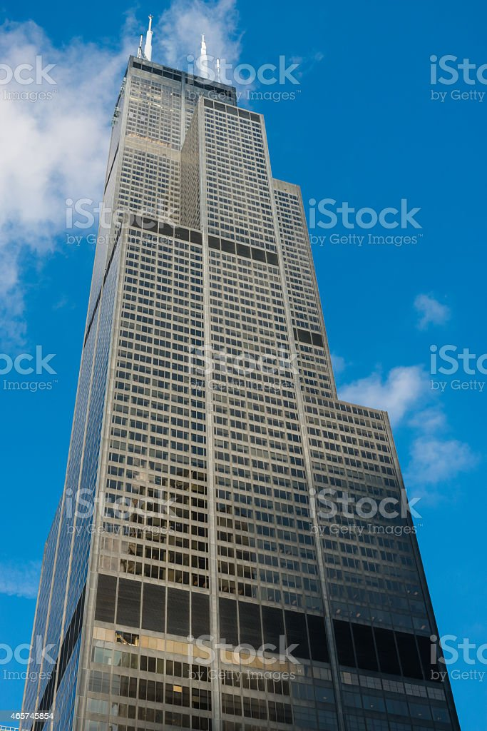 Sears Tower stock photo