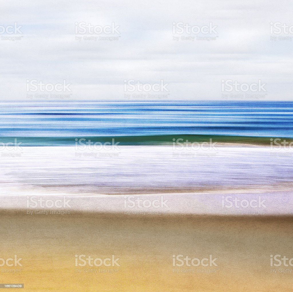 Seascape Abstract stock photo