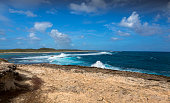 Seascape at Pointe des Chateaux in Guadeloupe