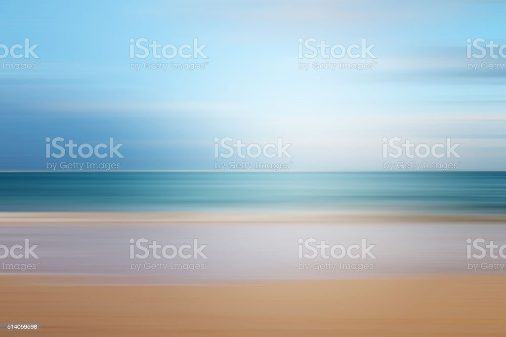 seascape background blurred motion,defocused sea. stock photo