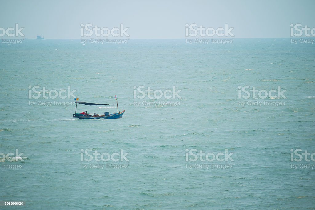 seascape in Thailand stock photo