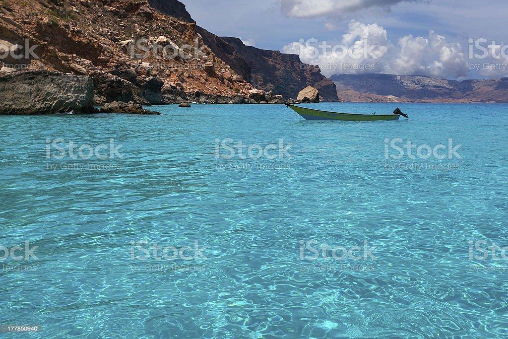Seascape, Indian Ocean, island Socotra, Yemen stock photo
