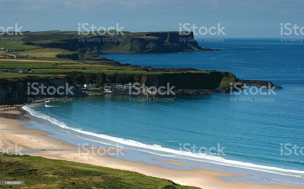 Seascape, Ireland royalty-free stock photo
