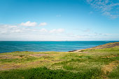 Seascape of Cape Leeuwin, along the Indian Ocean