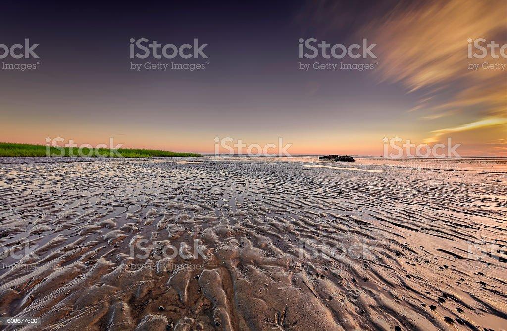 Seascape of Hilton Head Island stock photo