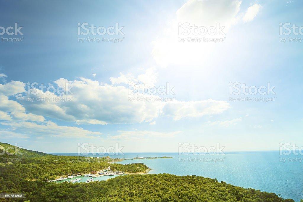 Seascape royalty-free stock photo