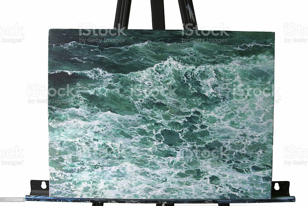 Seascape . stock photo