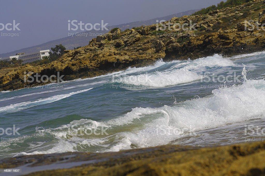 Paisaje marino foto de stock libre de derechos