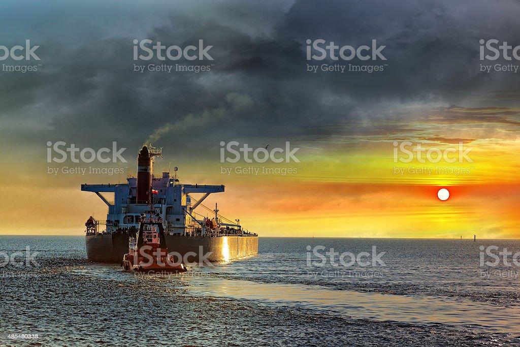 Seascape stock photo