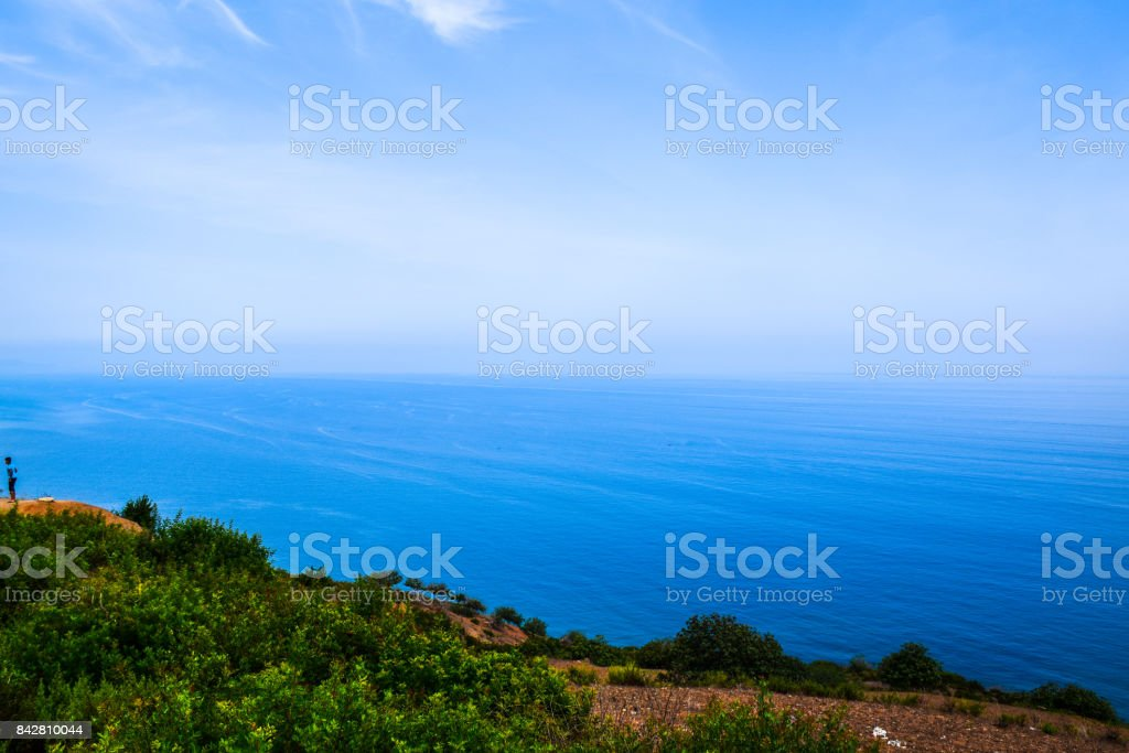 A seascape stock photo