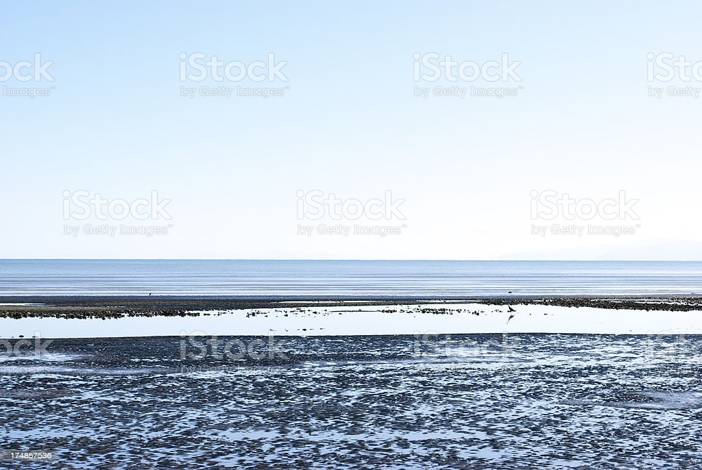 Seascape, Ruby Bay, New Zealand royalty-free stock photo