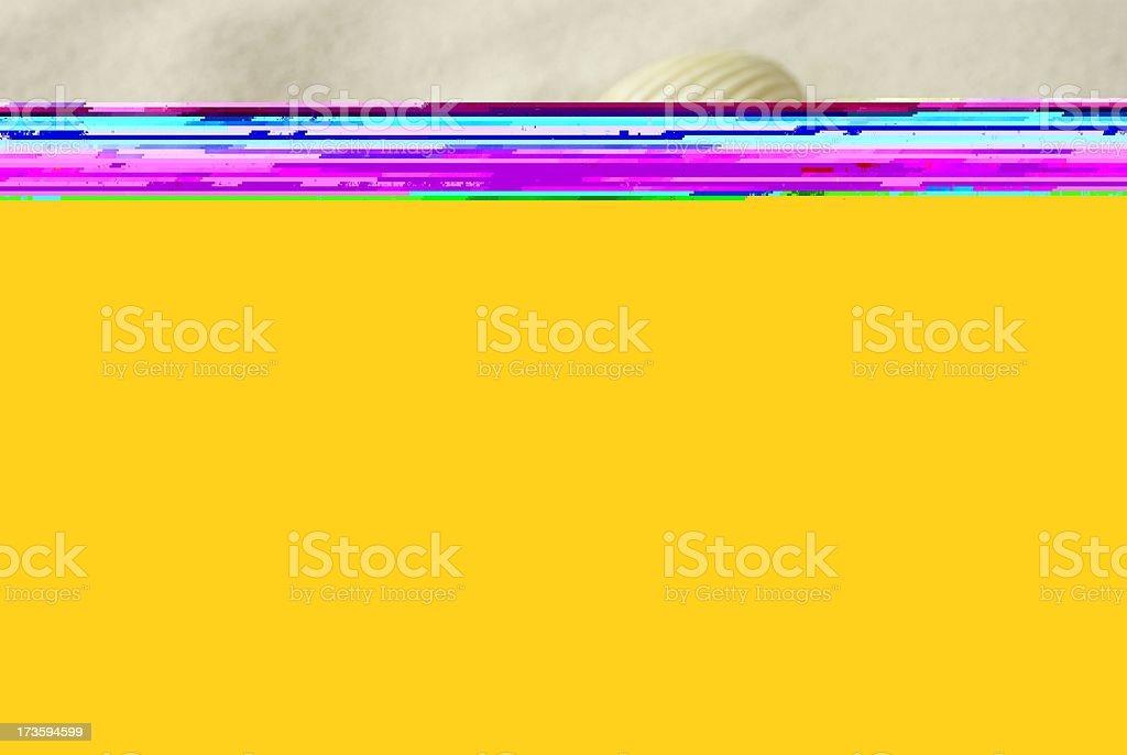 Seashells background royalty-free stock photo