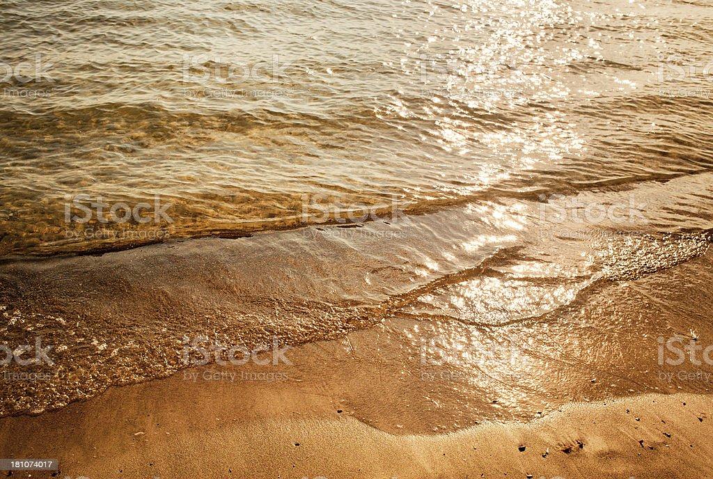 Seashore Texture royalty-free stock photo