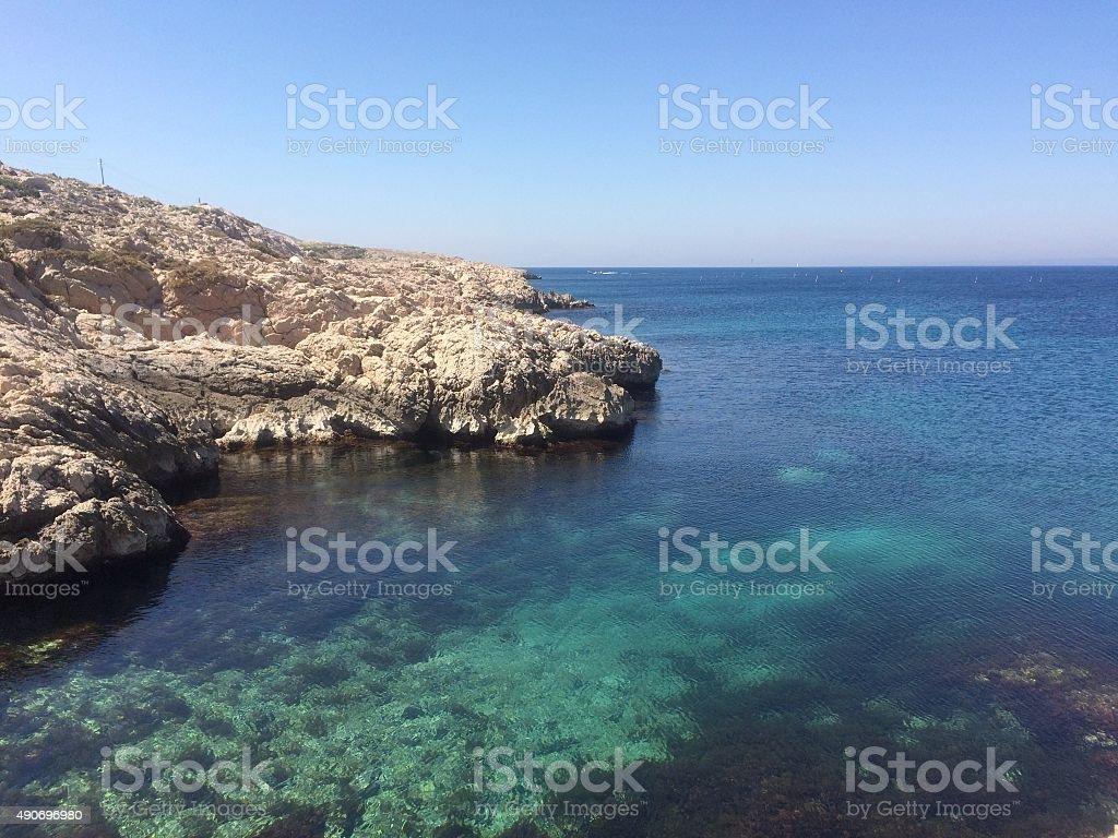 Seashores stock photo
