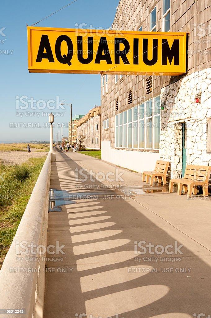 Seaside Aquarium stock photo