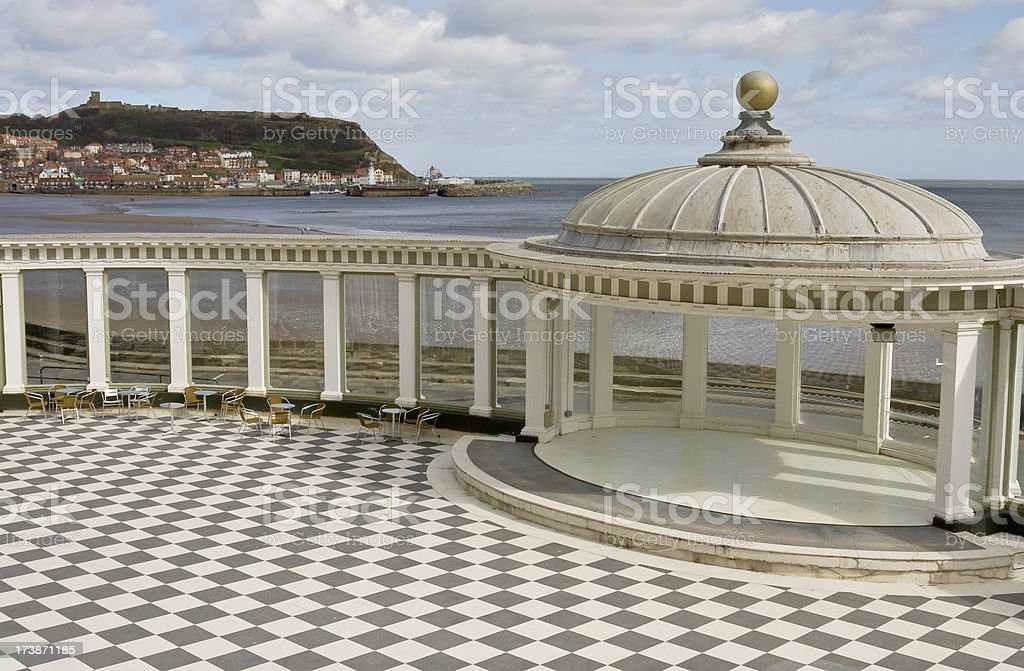 Seaside Ballroom royalty-free stock photo