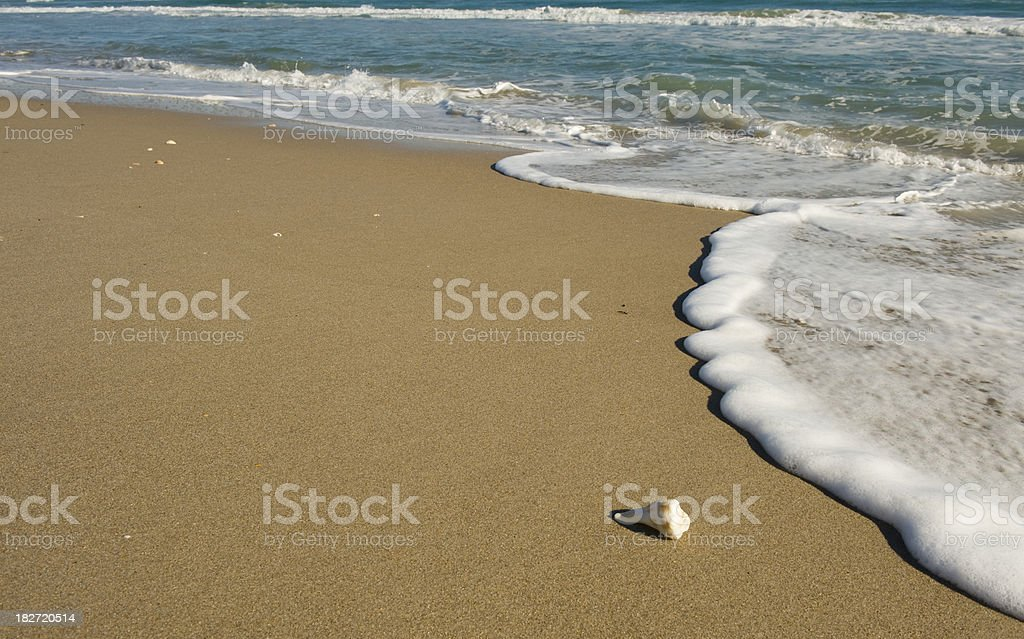 Seaside Beach royalty-free stock photo