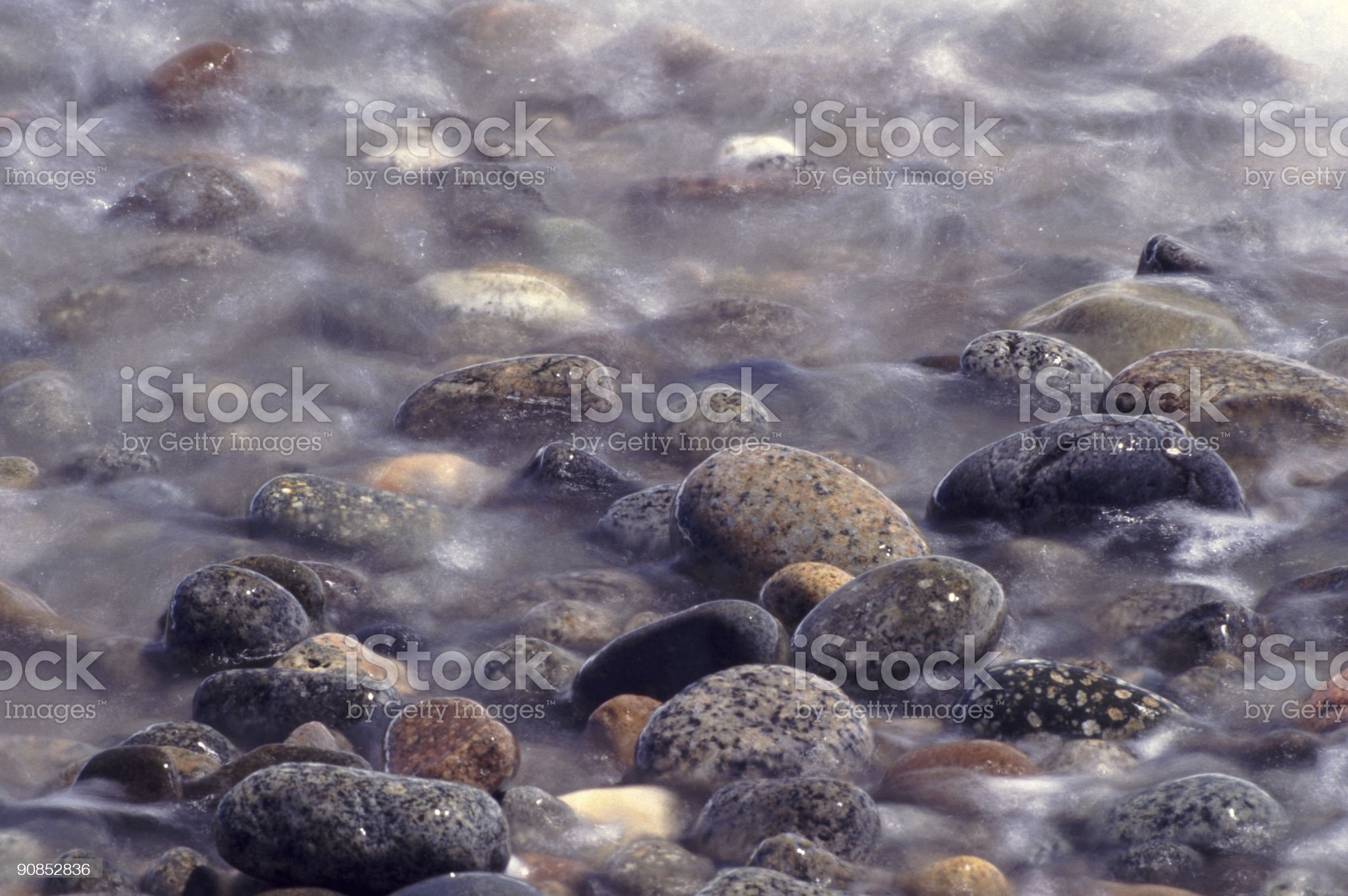 Seaside Cobbles royalty-free stock photo