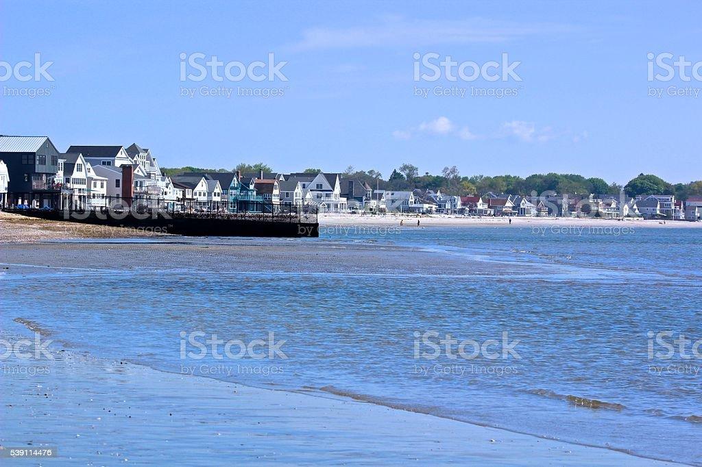 Seaside Community stock photo