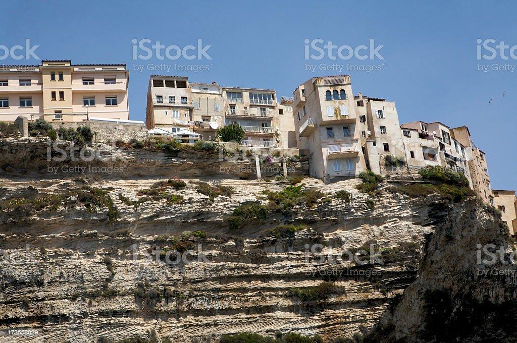 Seaside from Bonifacio - Corsica stock photo