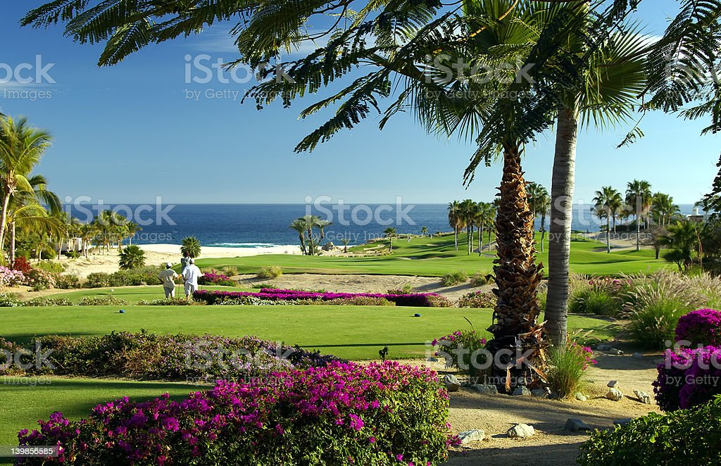 Seaside Golf Resort stock photo