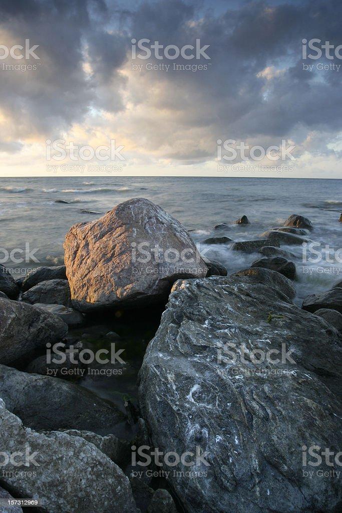 Seaside landscape royalty-free stock photo