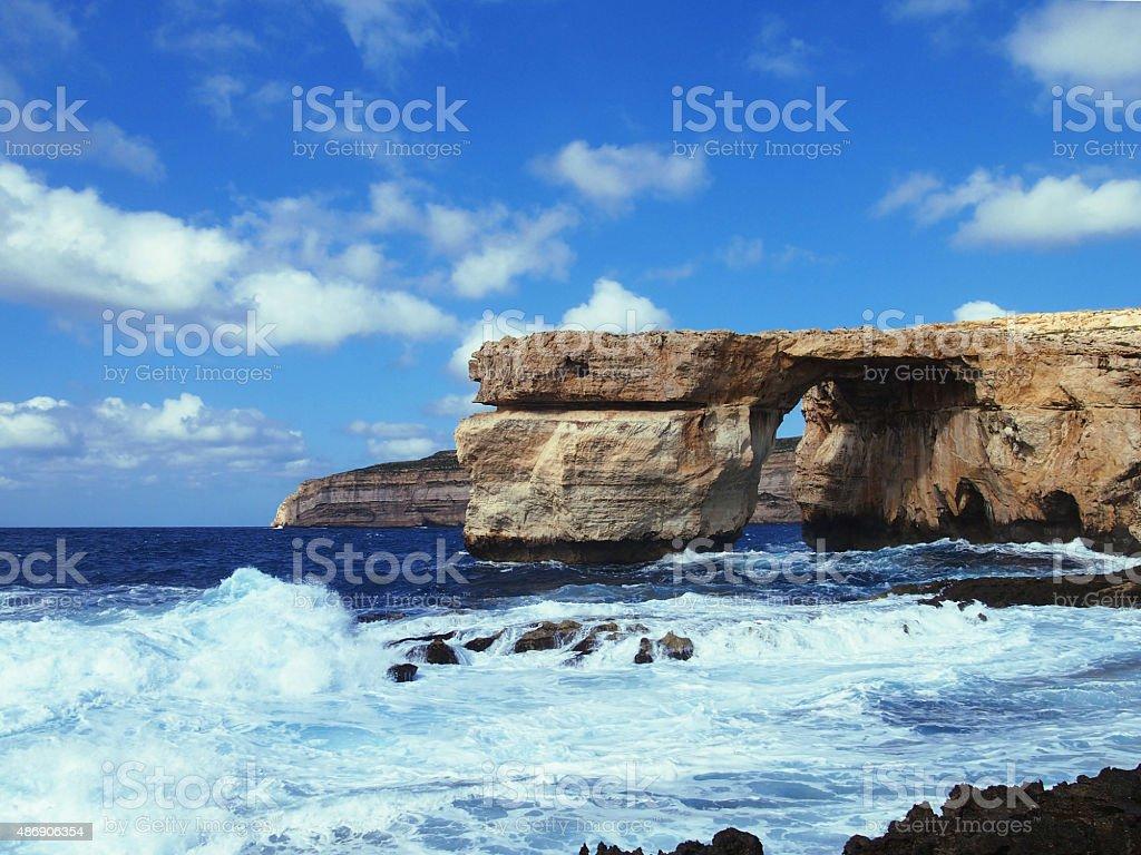 Seaside Landscape stock photo