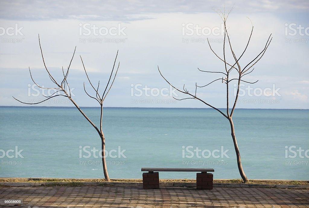 sea-side stock photo
