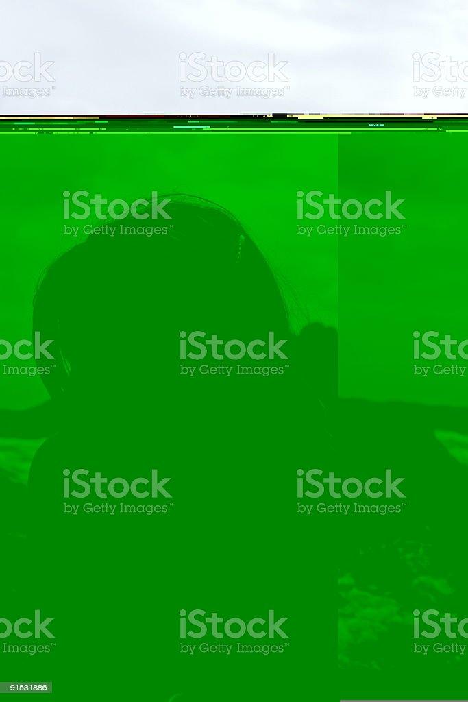 Seaside Portraits - Profile royalty-free stock photo