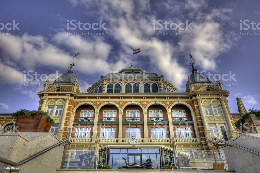 Seaside Resort stock photo