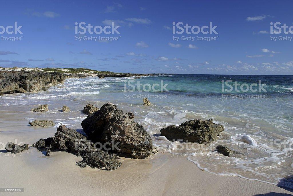 Seaside Rocks royalty-free stock photo