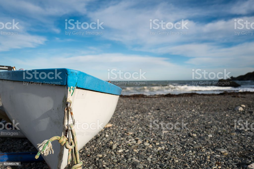 Seaside Village. stock photo
