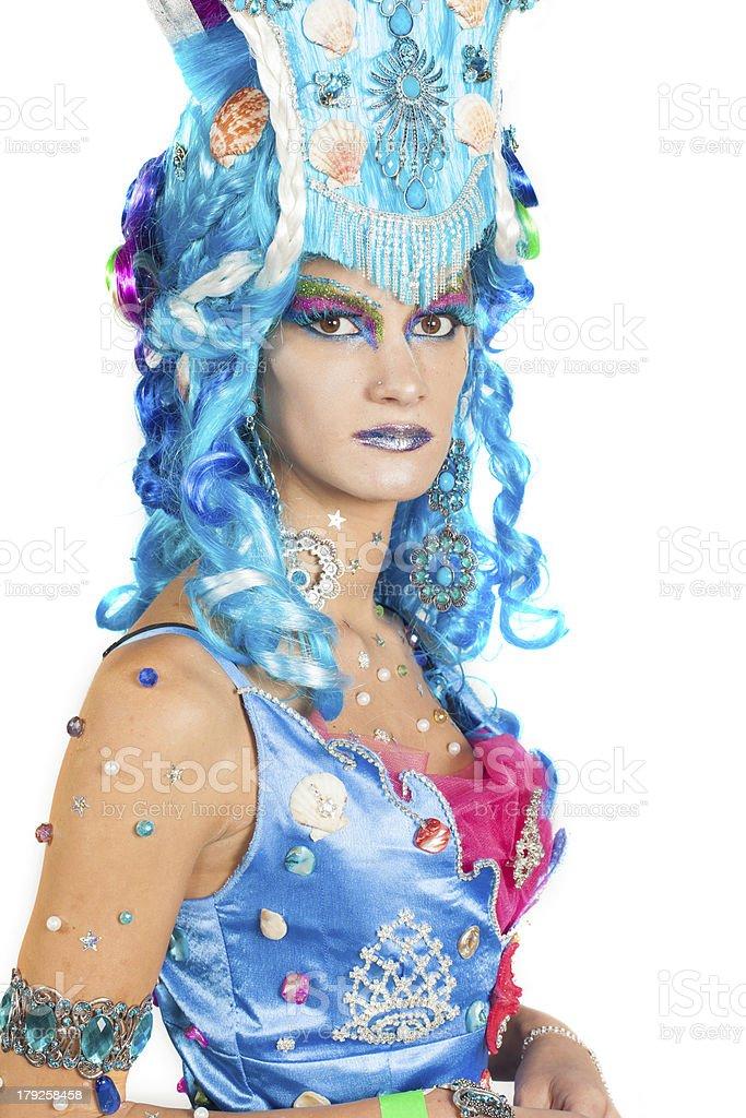 Seaside woman royalty-free stock photo