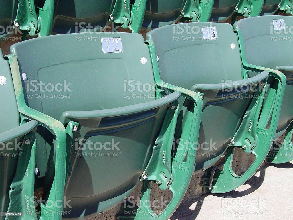 Season Ticket Holders stock photo