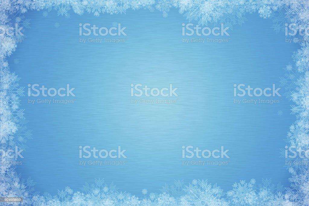 Seasonal 02 (Snowflakes) royalty-free stock photo