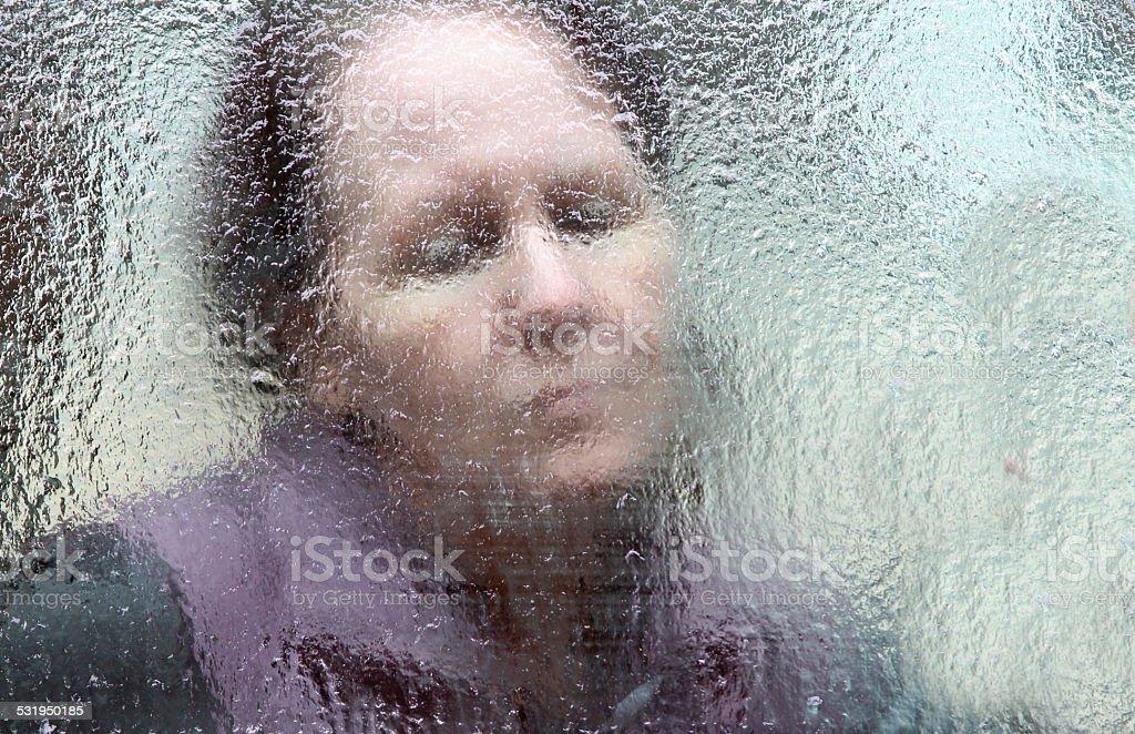Seasonal Depression stock photo