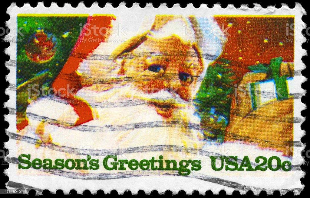 Seasons Greetings royalty-free stock photo