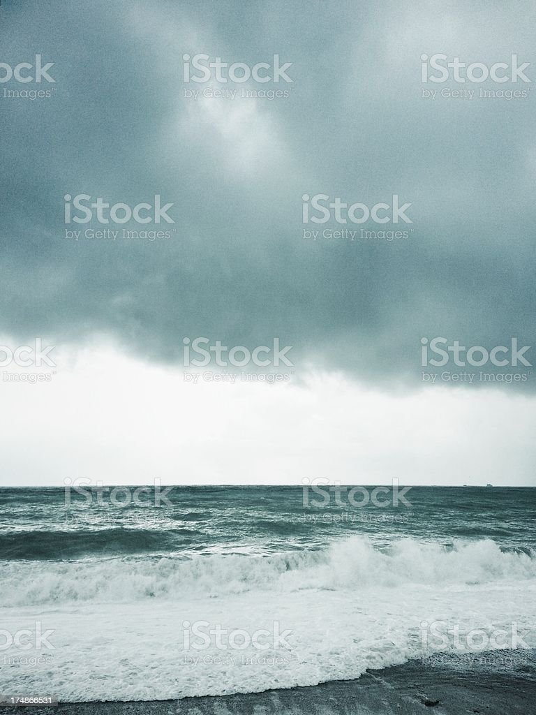 Seastorm stock photo