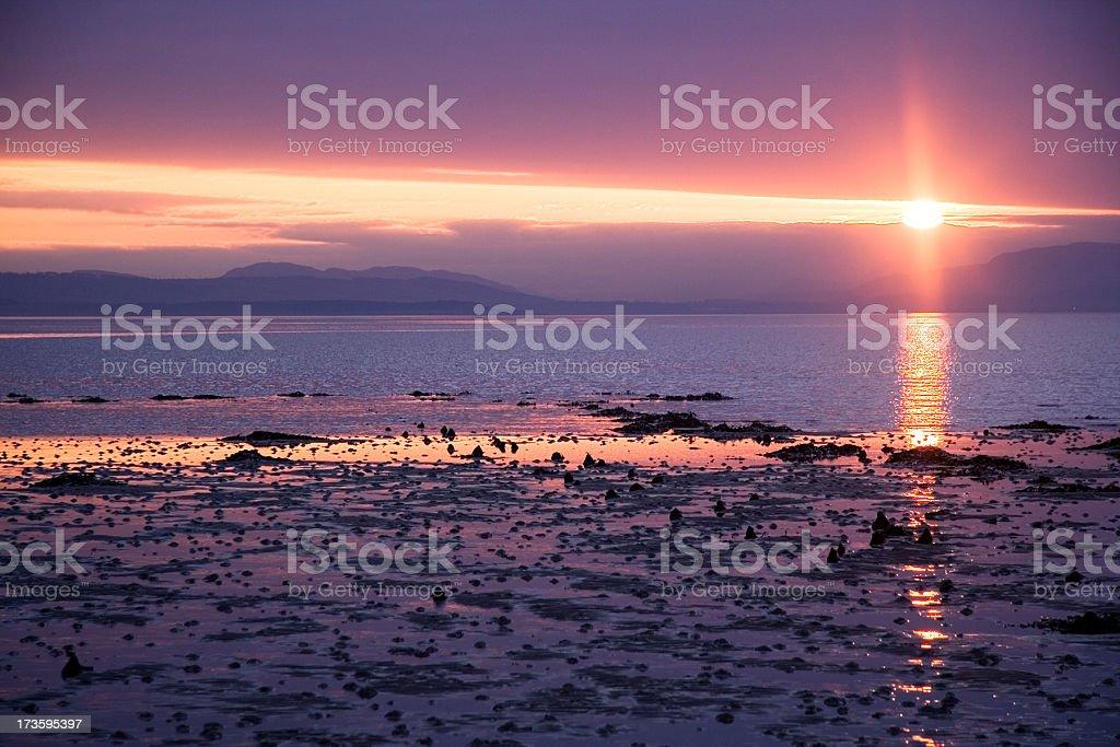 SeaSunset stock photo