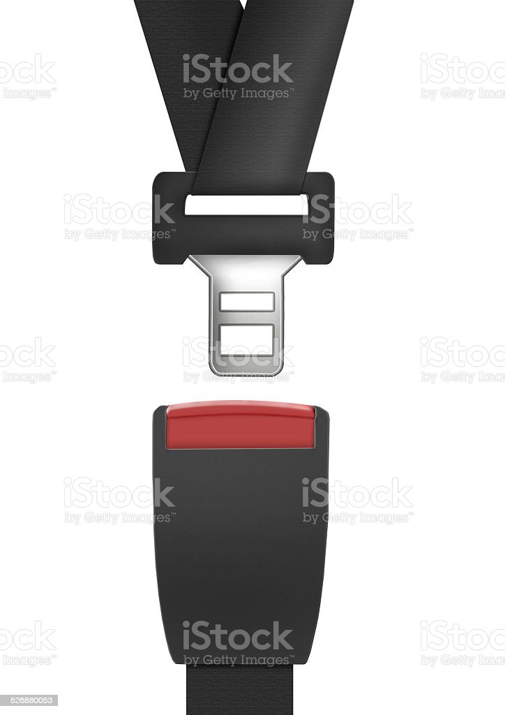 Seat Belt stock photo