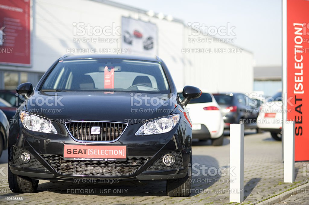 Seat Ibiza royalty-free stock photo
