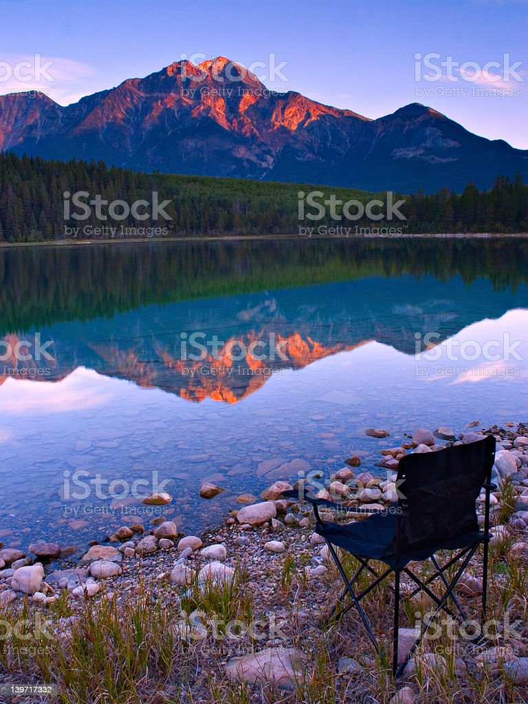 A Seat on Shore royalty-free stock photo