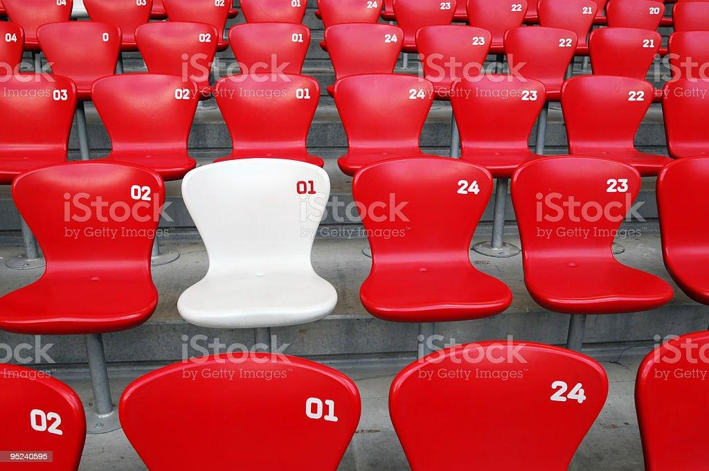 VIP Seat stock photo