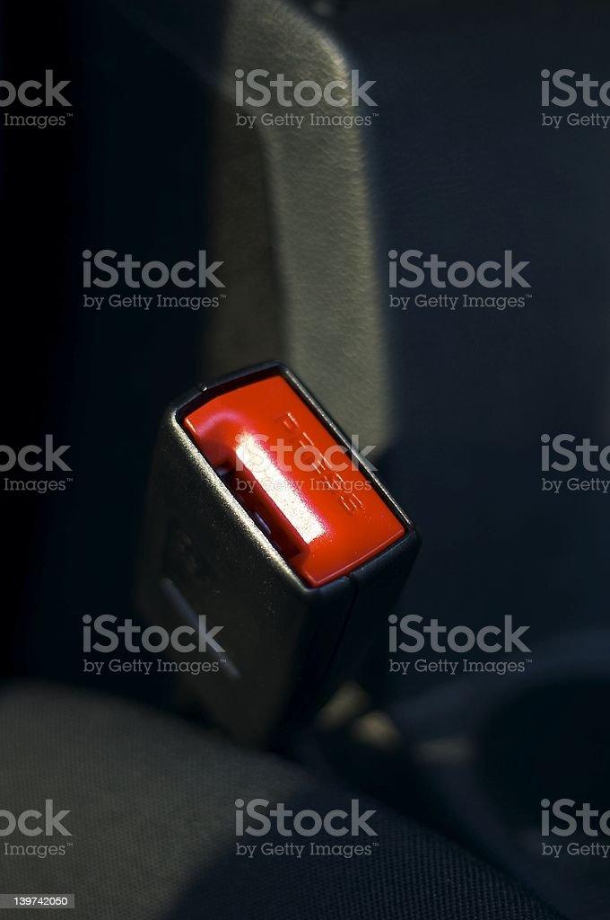 Seatbelt safety royalty-free stock photo