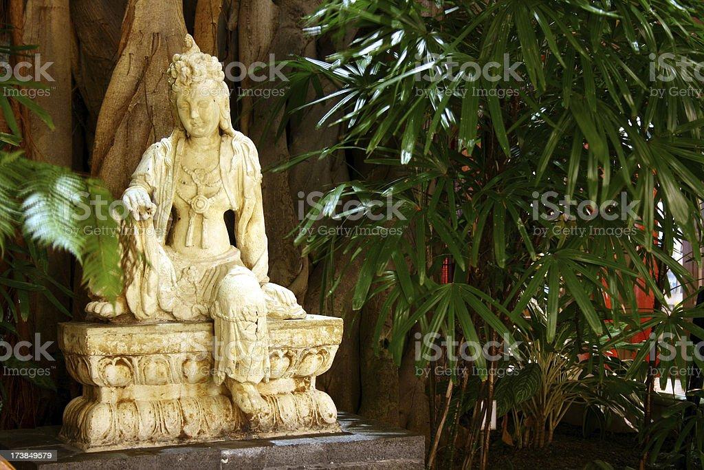 Seated Goddess royalty-free stock photo
