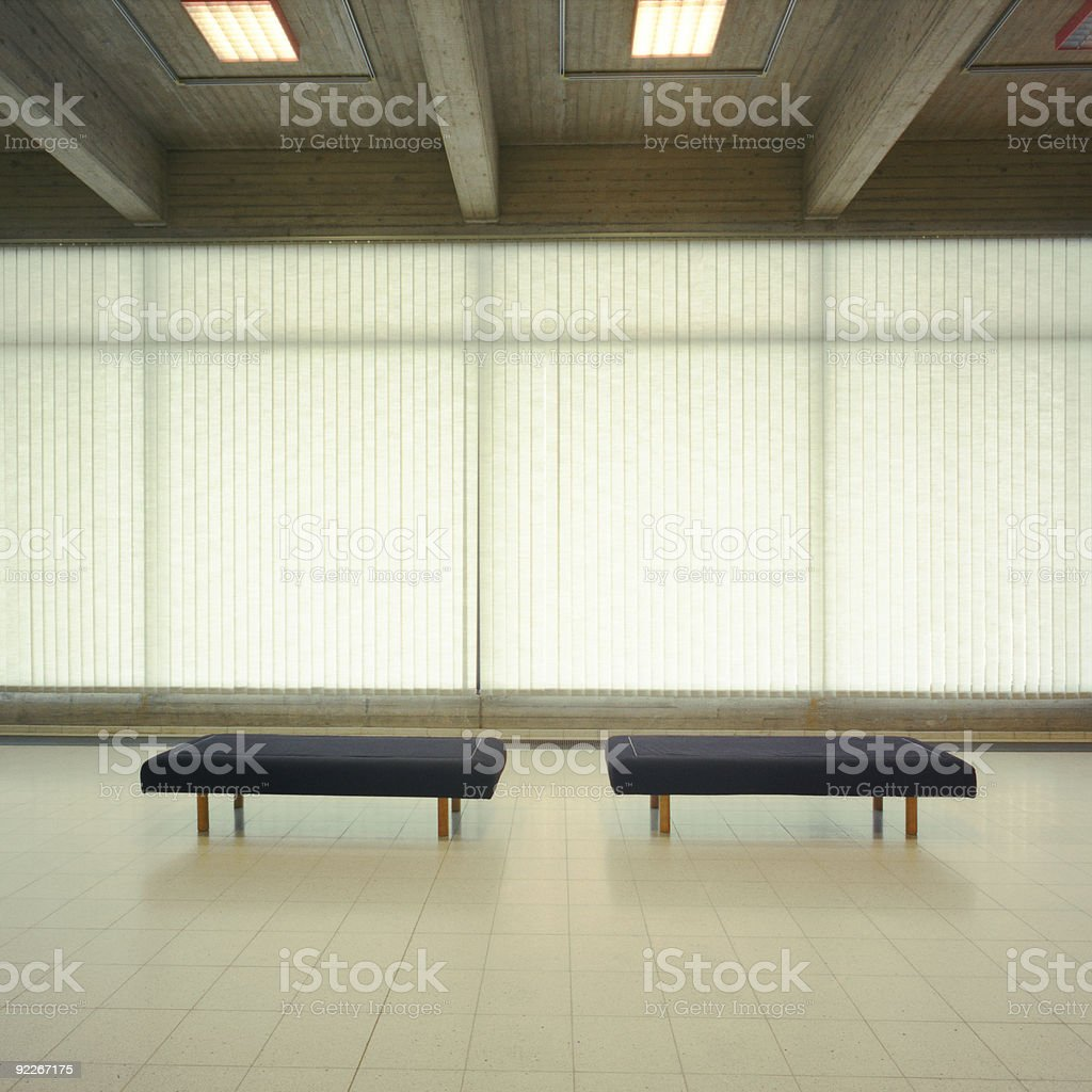 Seated Lounge Area royalty-free stock photo