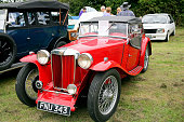 MG TA 2 seater sports from 1938.
