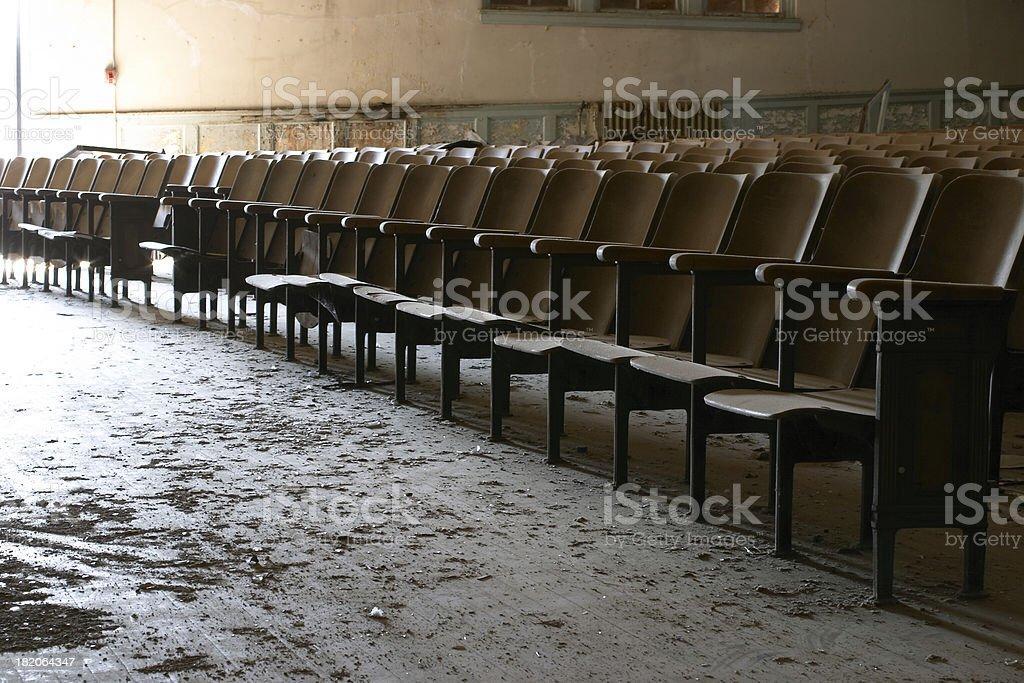 Seating royalty-free stock photo